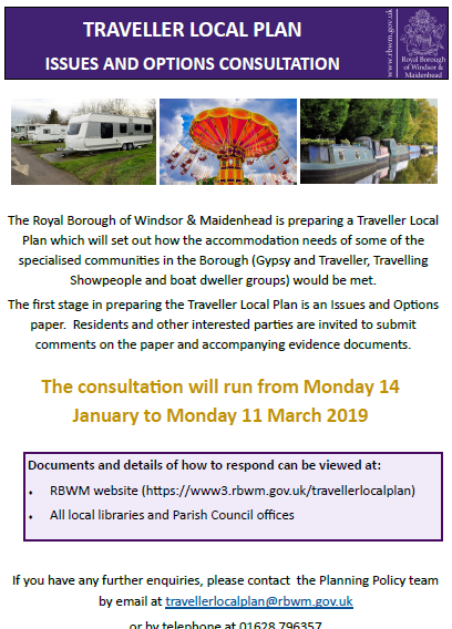 Traveller Local Plan Consultation